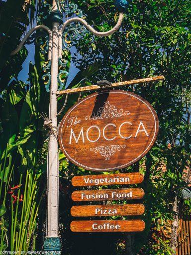 work-friendly cafes Canggu_mocca cafe_sign