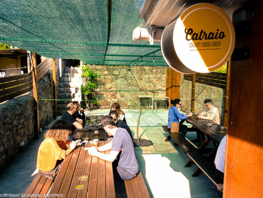Craft beer Tour Porto_Catraio_outside terrace
