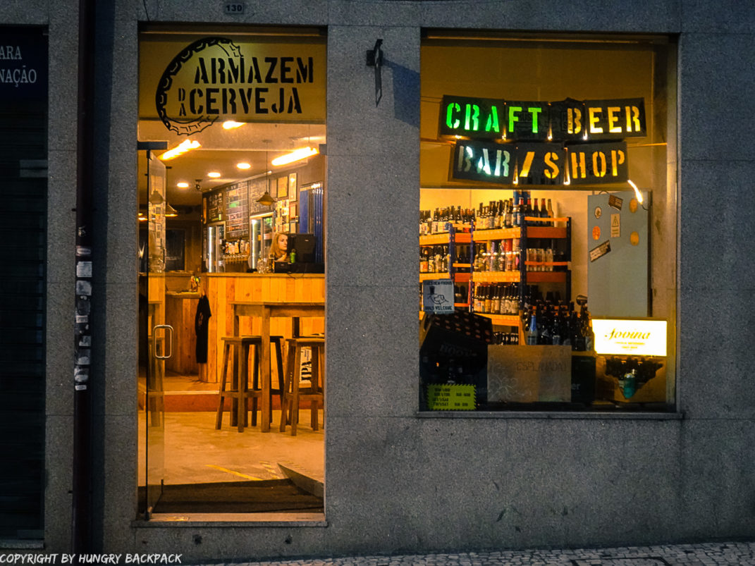 Craft beer Tour Porto_armazem da cerveja_outside