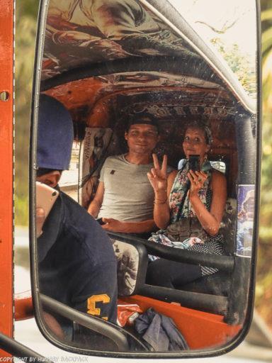 Exploring Kandy by Tuk Tuk_Tuk Tuk Selfie