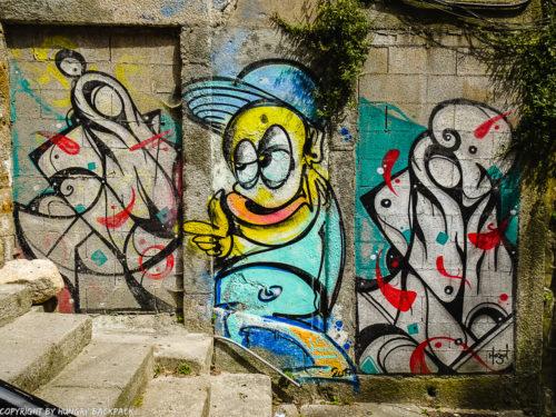 Porto Streetart_Hazul Duck_Escadas do Codeçal _