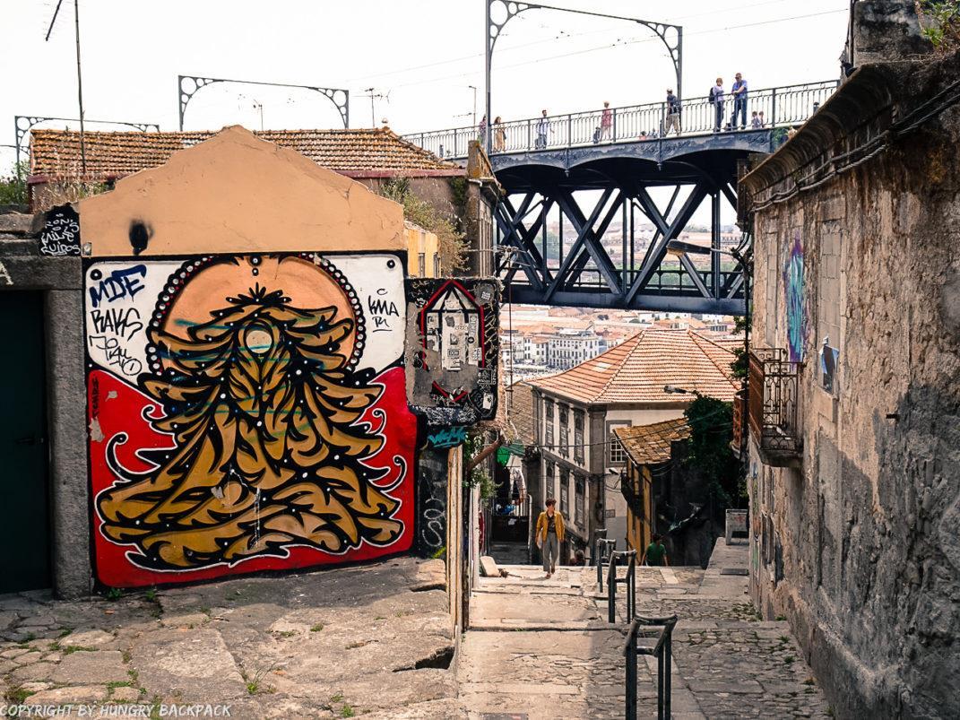 Porto Streetart_Hazul_Escadas do Codeçal _