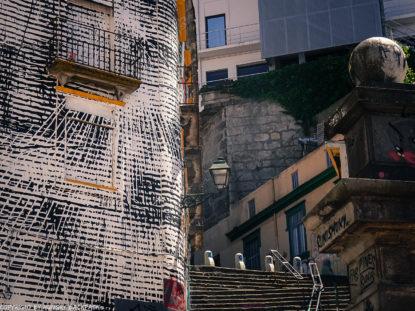 Porto Streetart_Rua Madeira_stairs