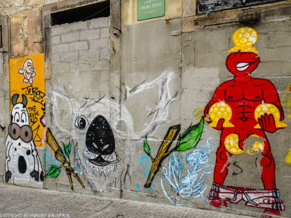 Porto Streetart_mural at Luis I Bridge_Escadas do Codeçal _