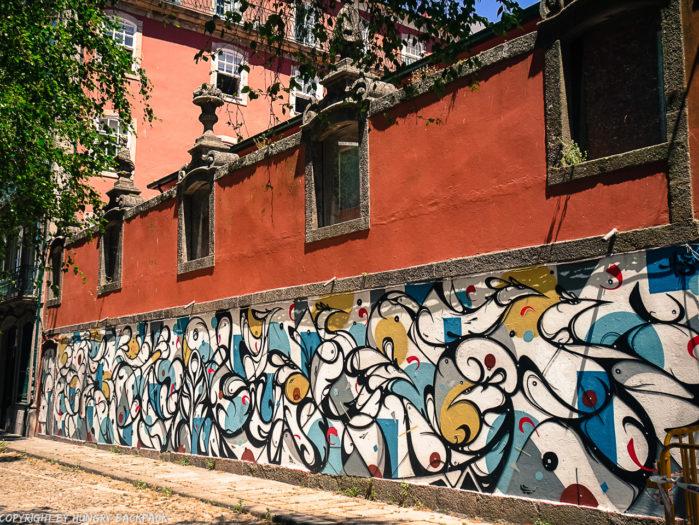 Porto street art_Cooperativa Artística Árvore Virtus by Hazul