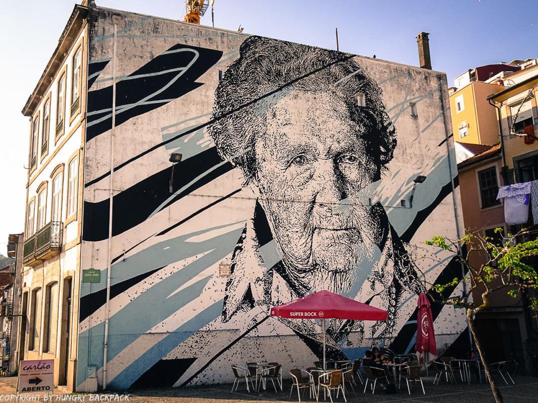 Porto street art_MIRA by Daniel Eime