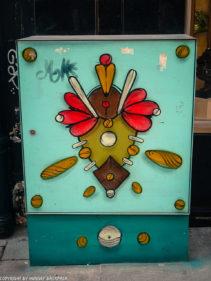 Porto street art_Rua das Flores_electrical boxes