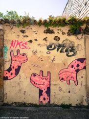 Porto street art_Rua de Miguel Bombarda_giraffes Chei Krew