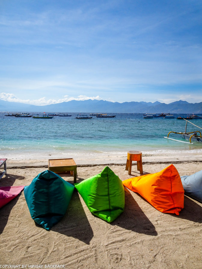 Gili Trawangan on year after earthquake_beach paradise