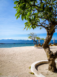 Gili Trawangan on year after earthquake_beautiful clean beach area