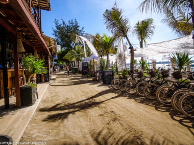 Gili Trawangan on year after earthquake_bike tour around island