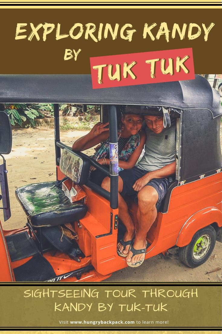 Guide_Sightseeing Tour through Kandy by Tuk Tuk