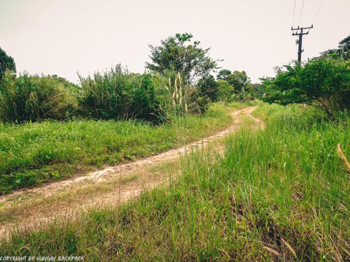 road inside grand lagoona resort_path to ghost ship Koh Chang