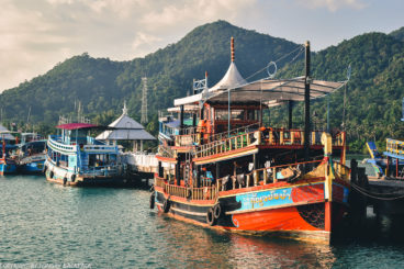 Bang Bao Pier - Koh Chang - Tour boats