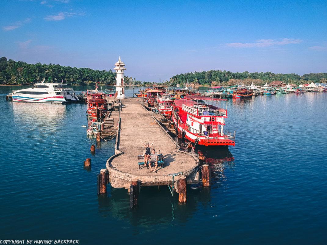 Bang Bao Pier - Drone view