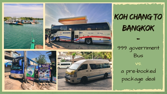 KOH CHANG TO BANGKOK – THE 999 BUS VS. A PACKAGE DEAL