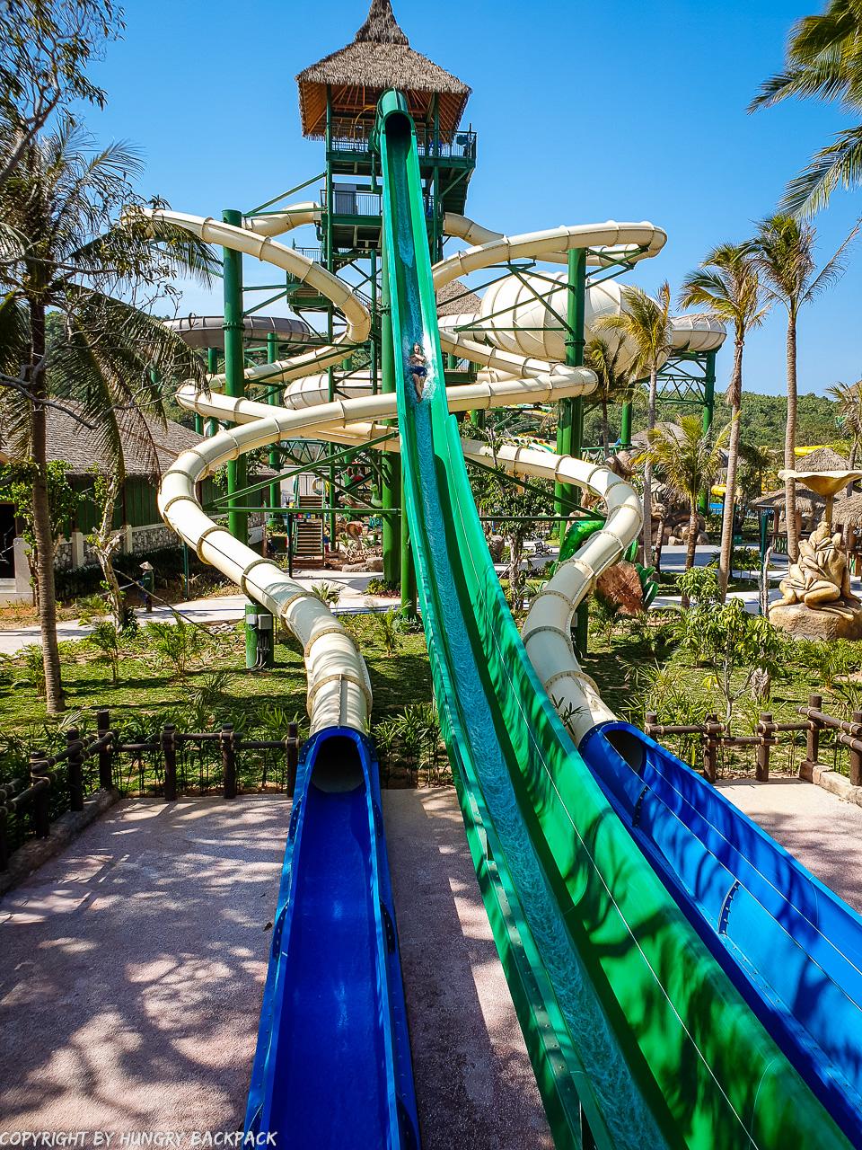 Aquatopia water park_Martin sliding Python Plunge