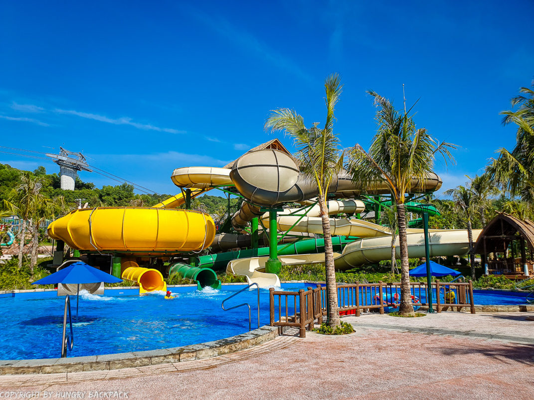 Aquatopia water park_Pearl Canyon, Golden Wave, Caves of Waves, Jungle Twister