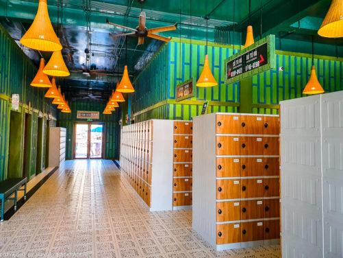 Aquatopia water park_locker facilities