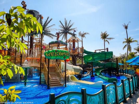 Aquatopia water park_monkey world kids playground