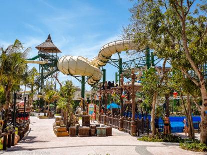 Aquatopia water park_slides with Anaconda