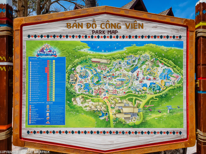 Aquatopia_water park map of things to do