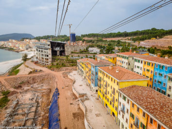 Hon Thom Cable Car Phu Quoc_construction of italian village