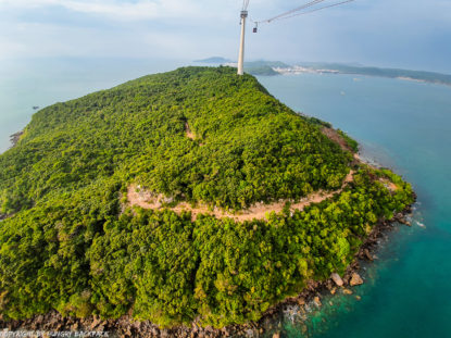 Hon Thom Cable Car Phu Quoc_view of small islands