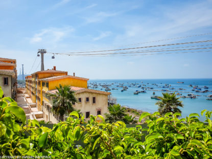 Phu Quoc Cable Car_beginning of cable car ride over italian village