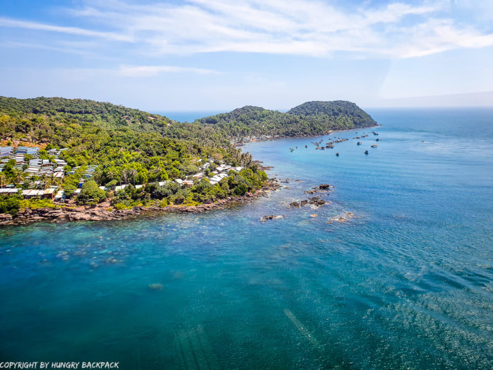 Phu Quoc Cable Car_view from can to small islands