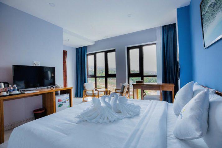 Stellar Hotel Qhu Quoc - Double room